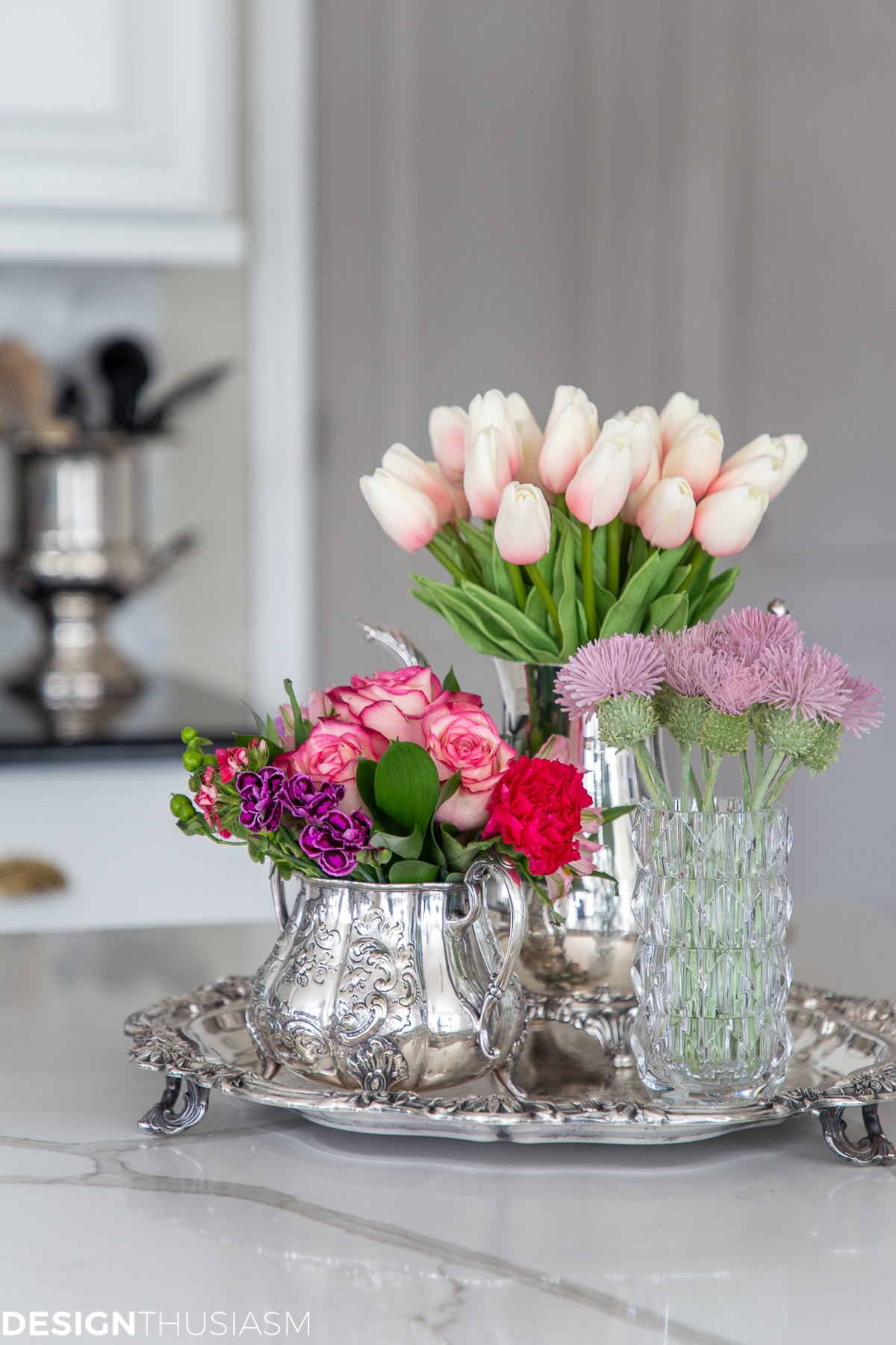 floral arrangements valentines day decor