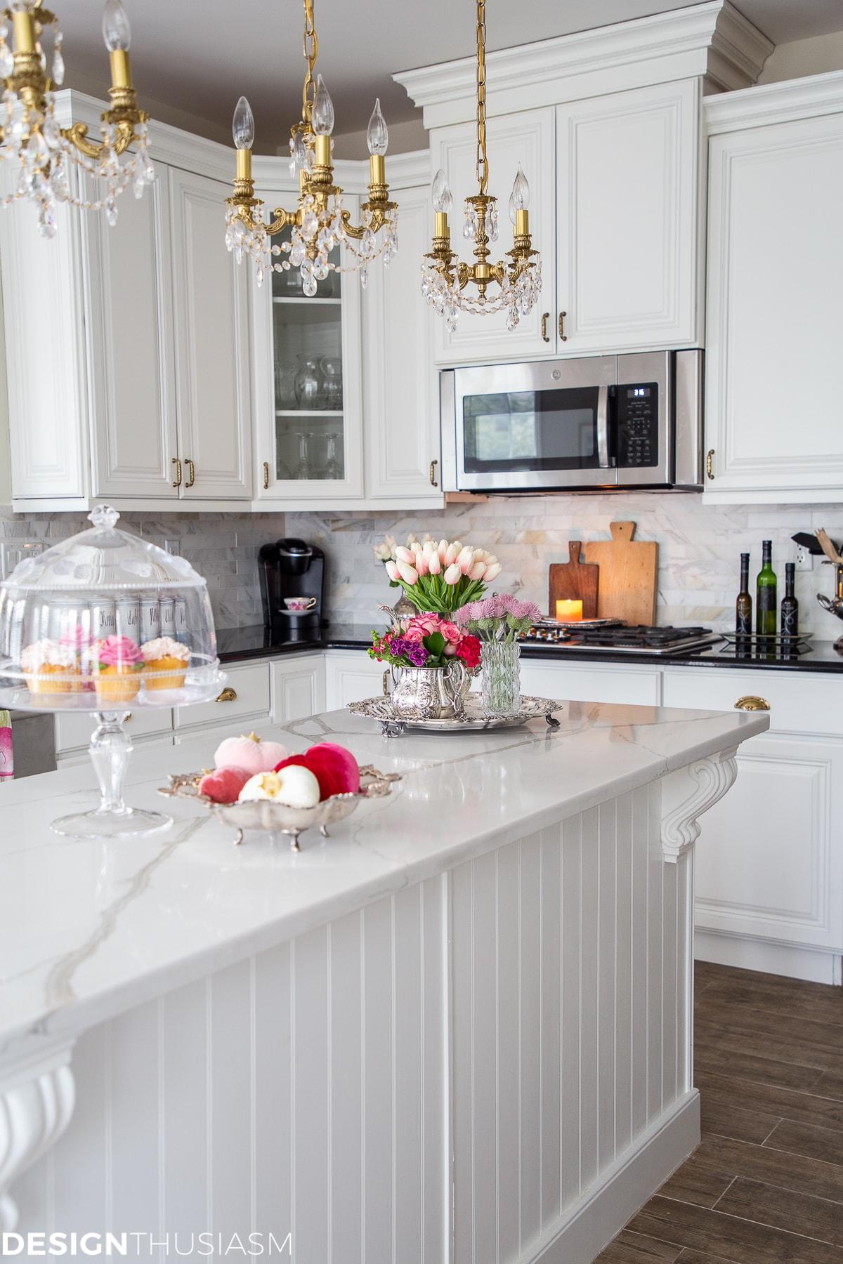 kitchen decor for valentines day