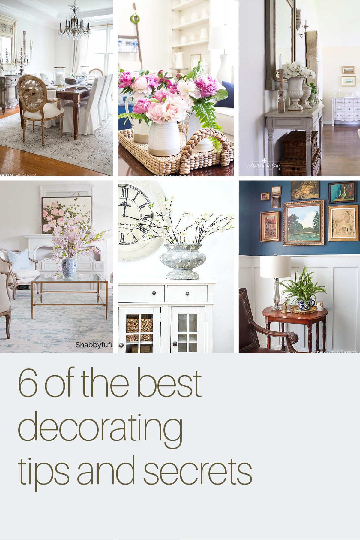 decorating tips and ideas