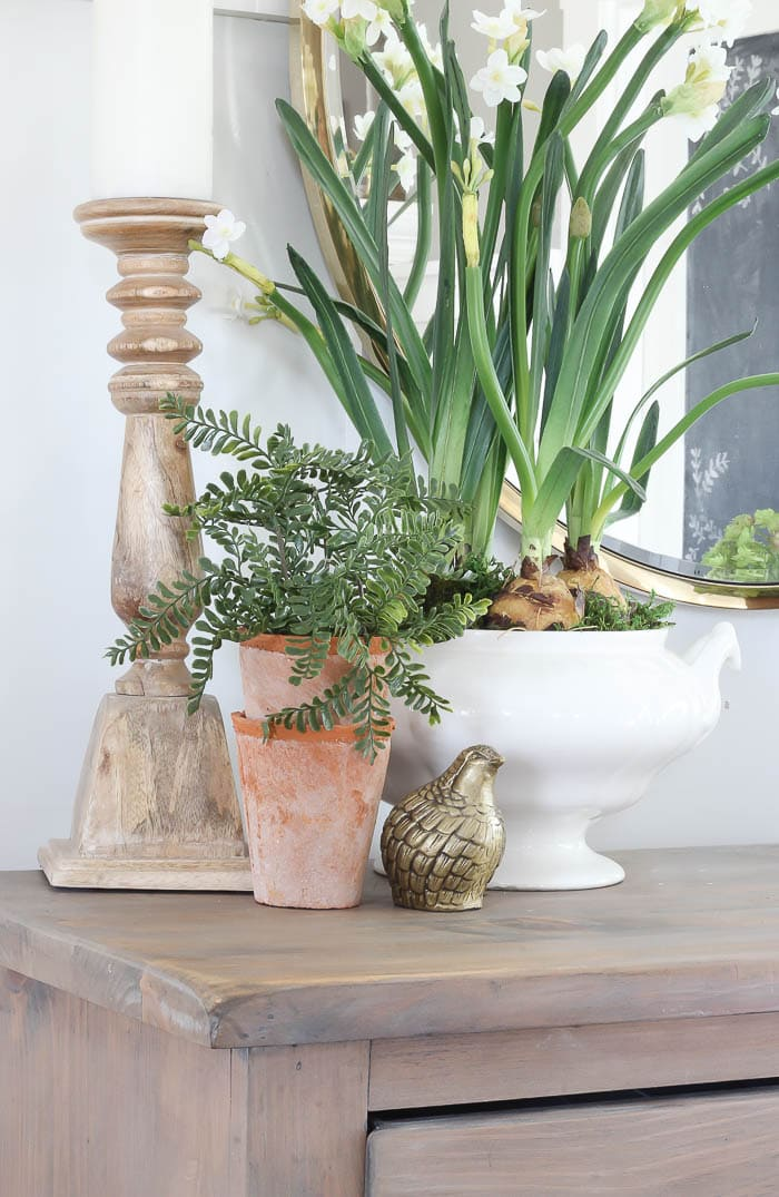 DIY Faux Potted Plants