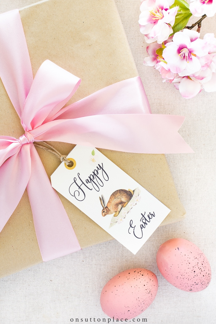Easter Gift Tags from On Sutton Place