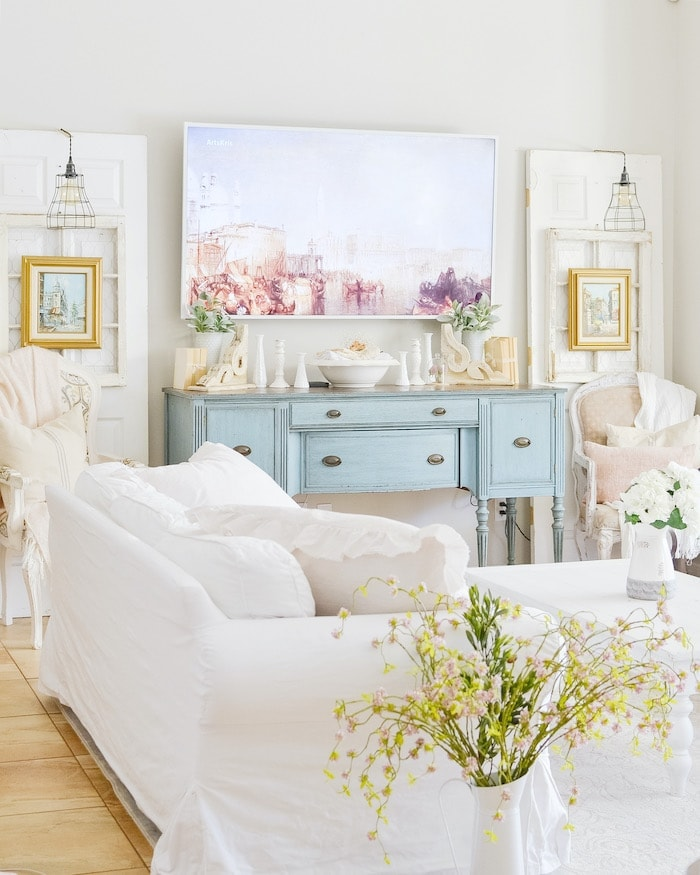Thrifty French Country Style Home Tour