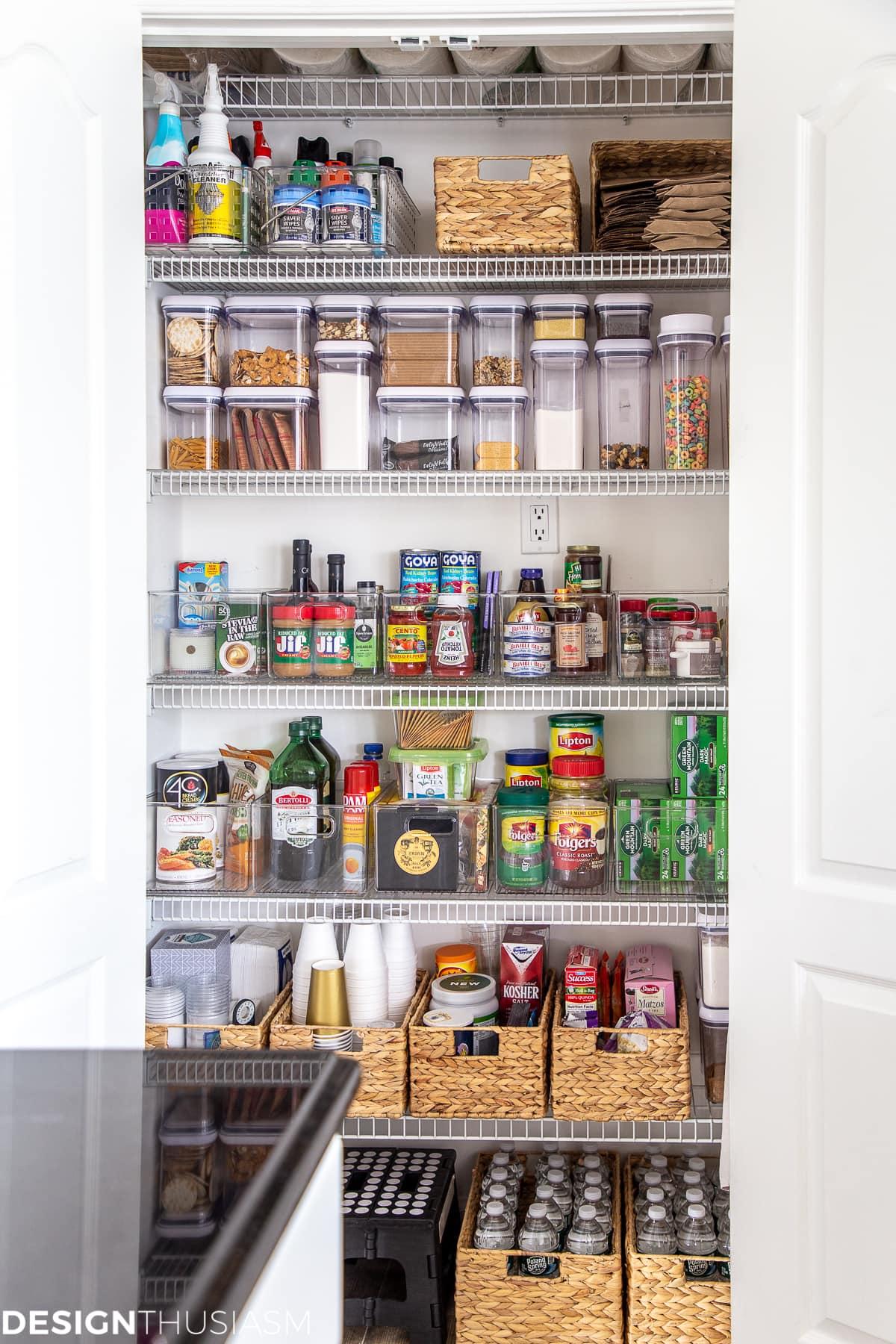 good habits organized pantry