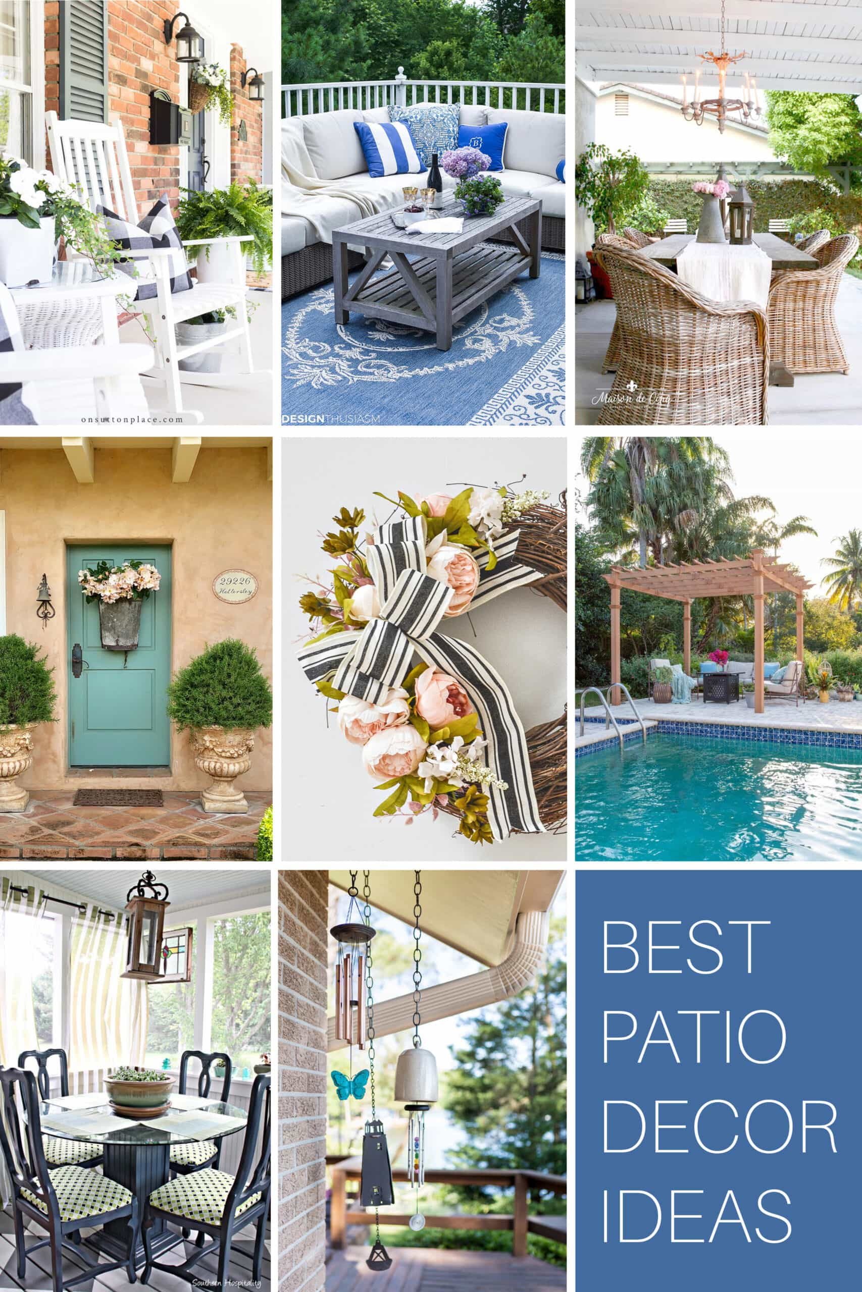 Best patio decor ideas