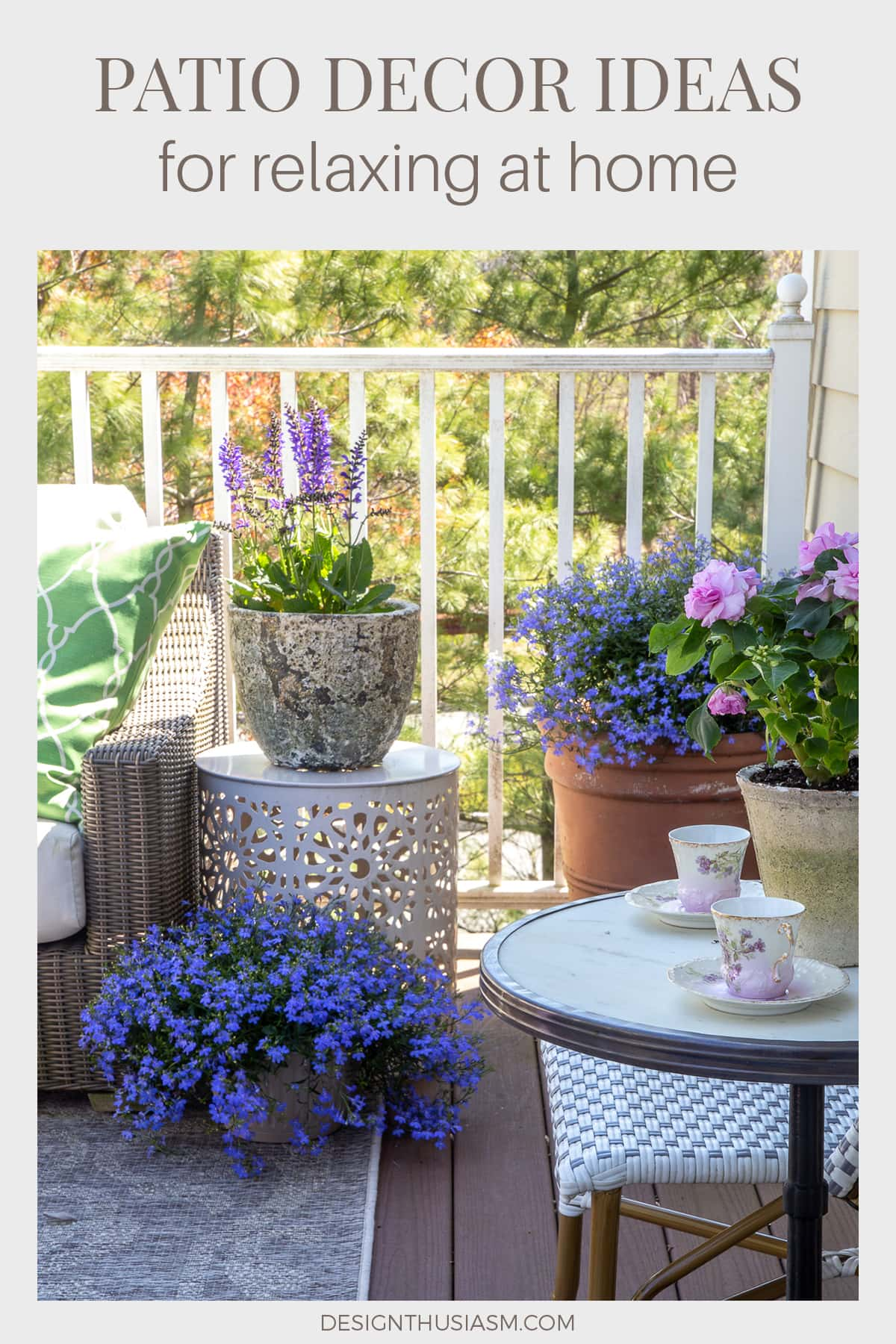 outdoor living patio decor