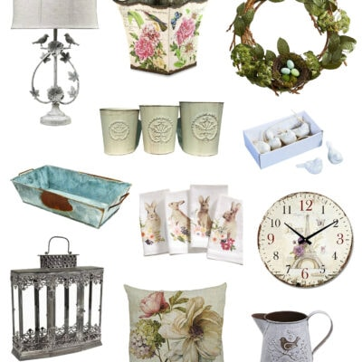 The Best French Country Spring Decor Ideas to Buy Now
