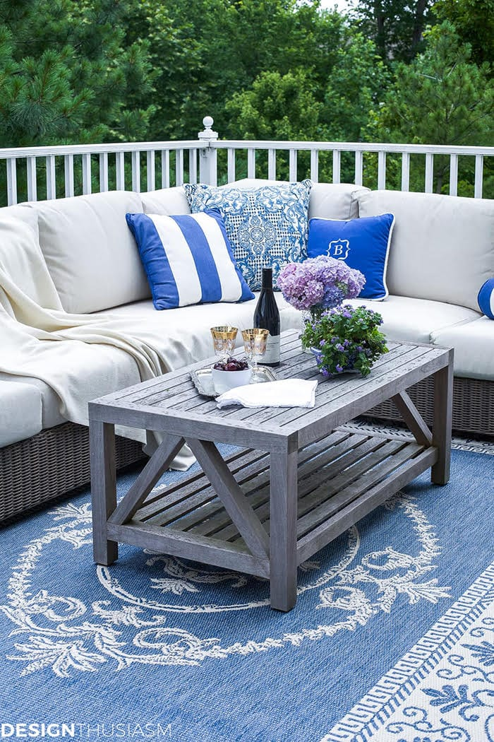 Deck Decor from Designthusiasm