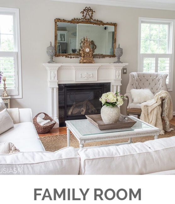 Shop My Home - Family Room - Designthusiasm.com