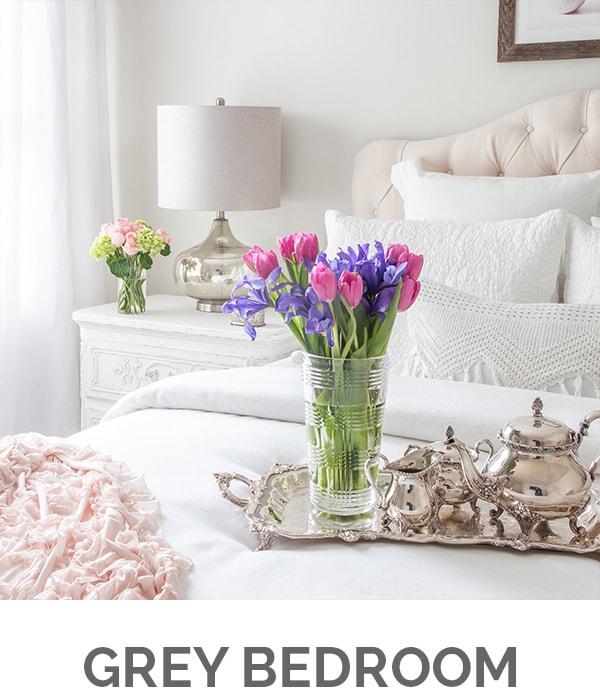 Shop My Home - White Bedroom - Designthusiasm.com