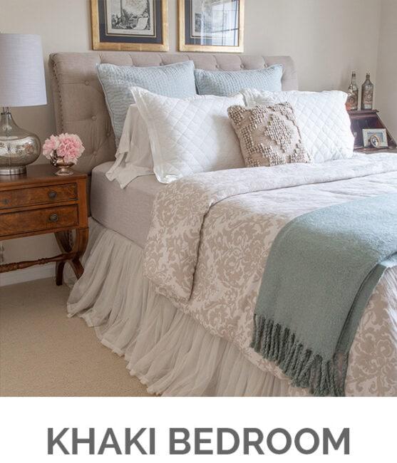 Shop My Home - Khaki Bedroom - Designthusiasm.com