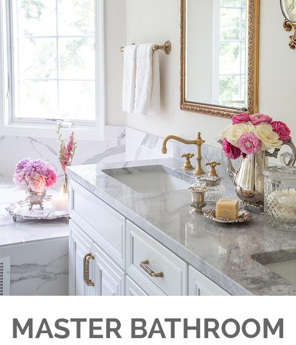 Shop My Home - Master Bath - Designthusiasm.com