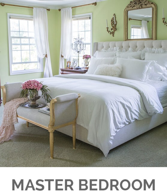 Shop My Home - Master Bedroom - Designthusiasm.com