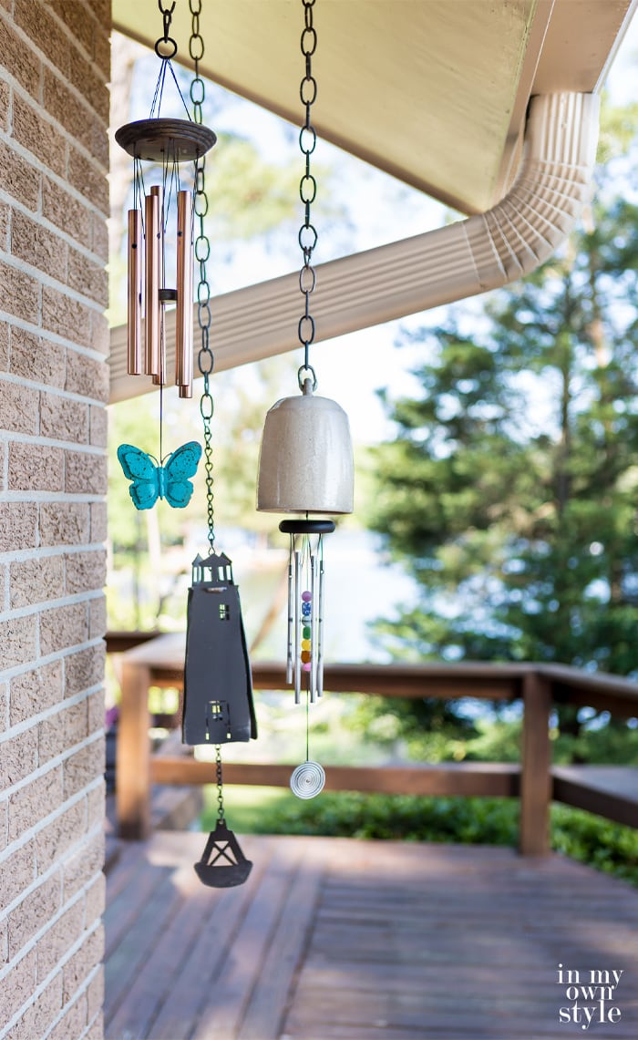 Outdoor Wind Chimes from In My Own Style