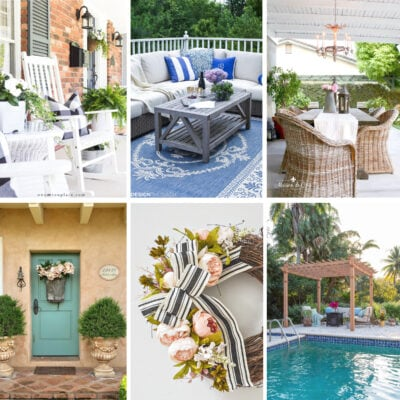 Cozy Outdoor Decor Ideas: 8 Bloggers' Best Patio Decorating Tips