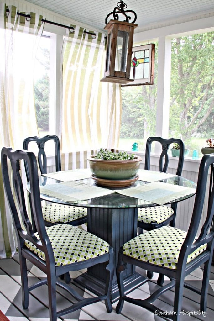 Screened In Porch Decor from Southern Hospitality