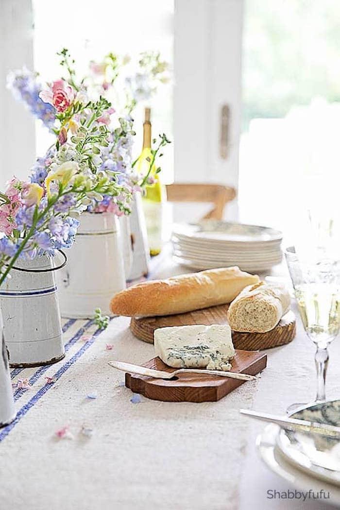 Simple Summer Dining Inspired By France