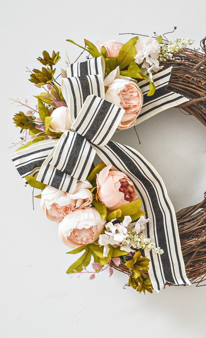 Summer Peony Wreath from StoneGable