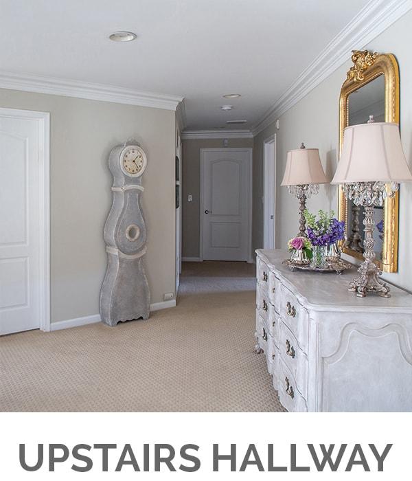 Shop My Home - Upstairs Hallway - Designthusiasm.com