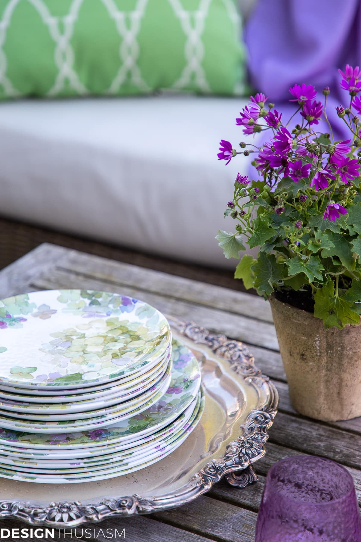 patio decor outdoor dishes
