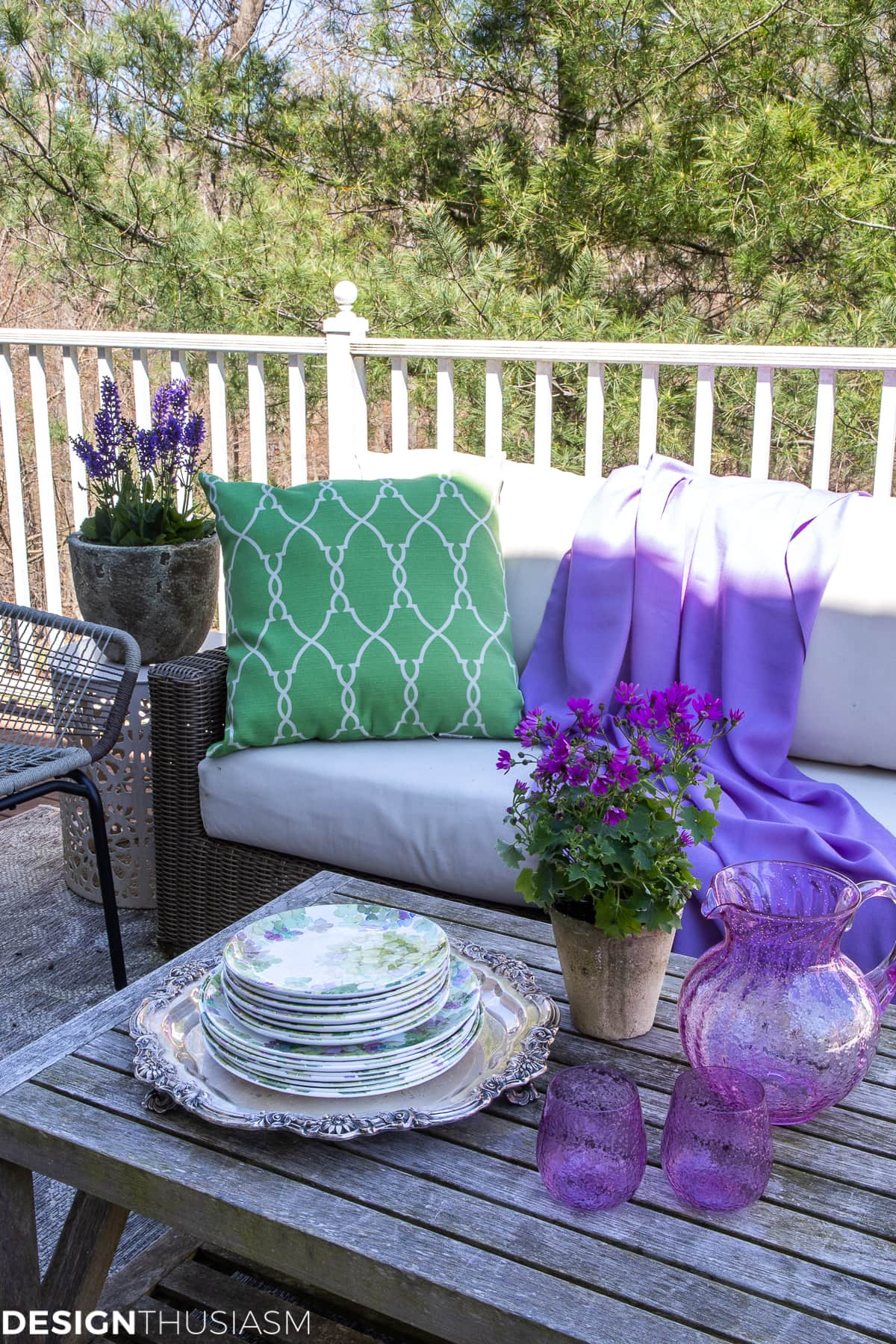 patio decor for summer