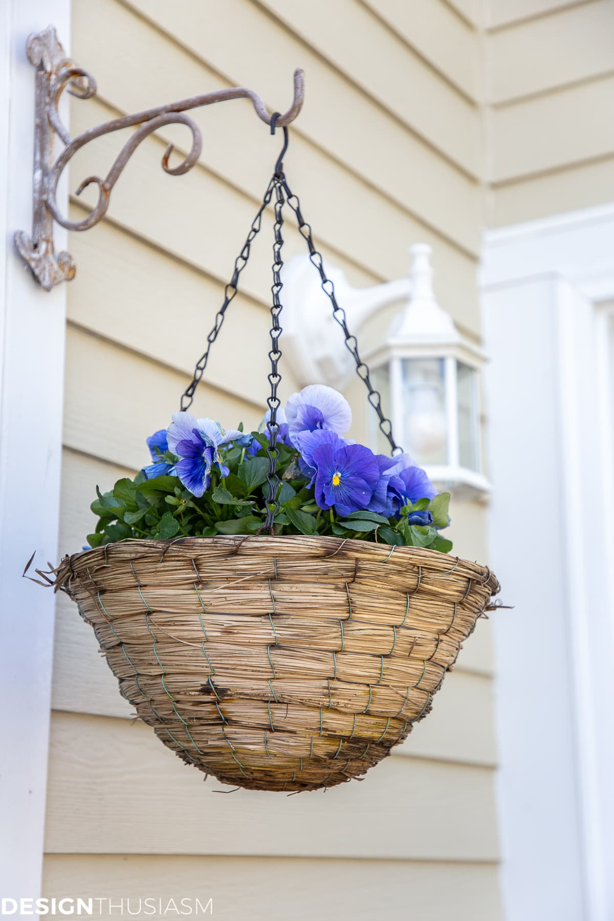 patio decor hanging basket