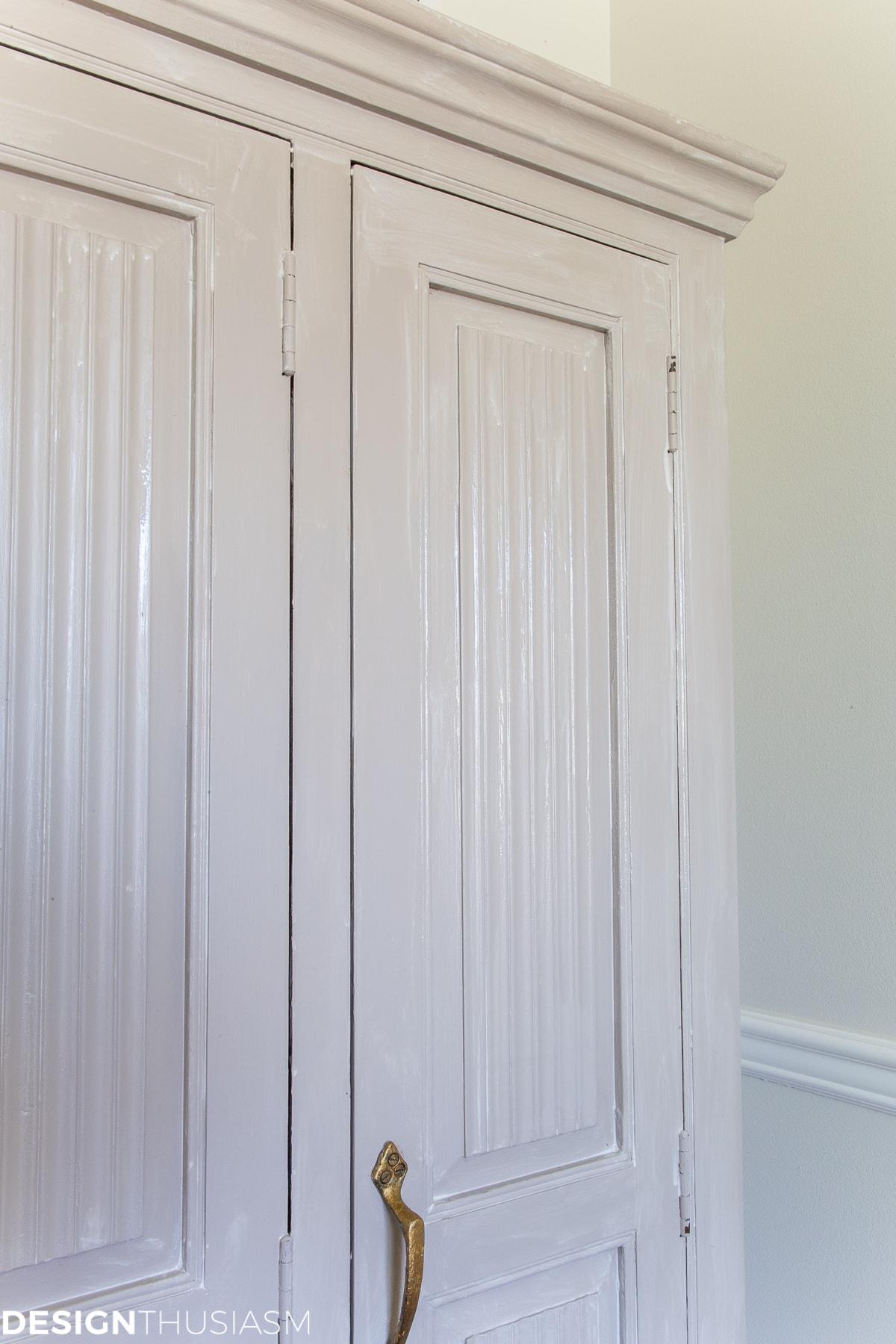 china cabinet wax