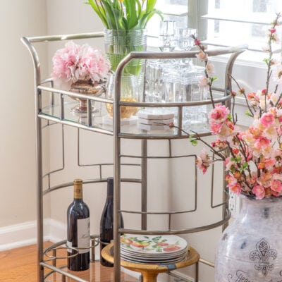 Spring Decorating: Mixing Vintage Decor with Modern Accent Furniture
