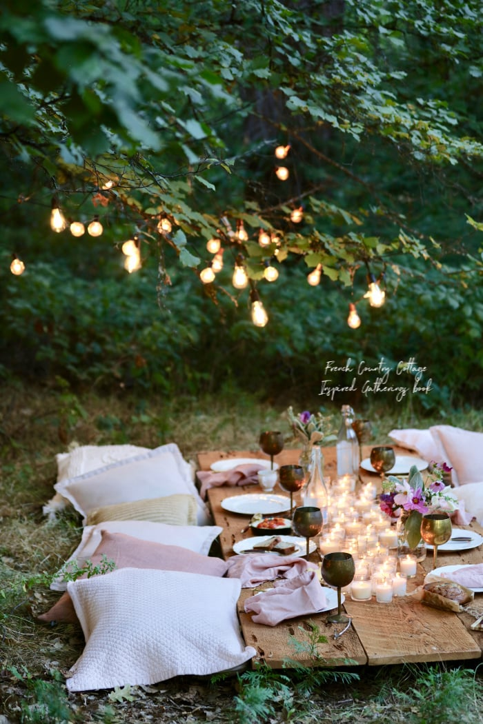 Creating a Bohemian style table