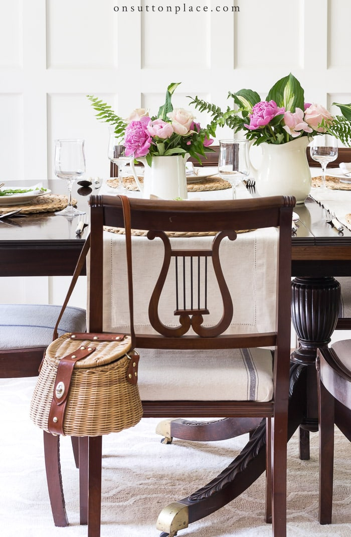 Easy Summer Tablescape from On Sutton Place