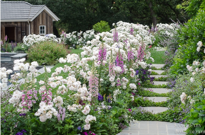 How to Plant a Ronamtic English Garden