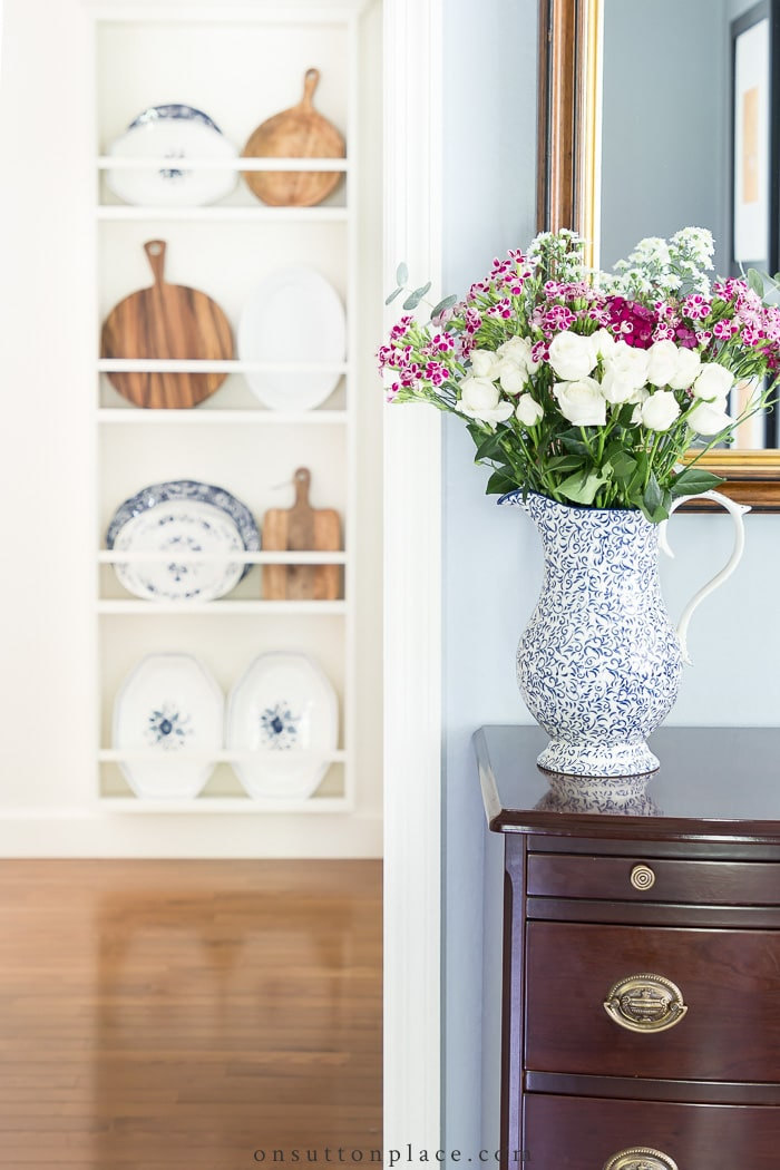 Styling a Plate Rack from On Sutton Place