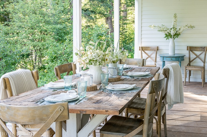 Tips for Setting a Quick Beautiful Outdoor Table