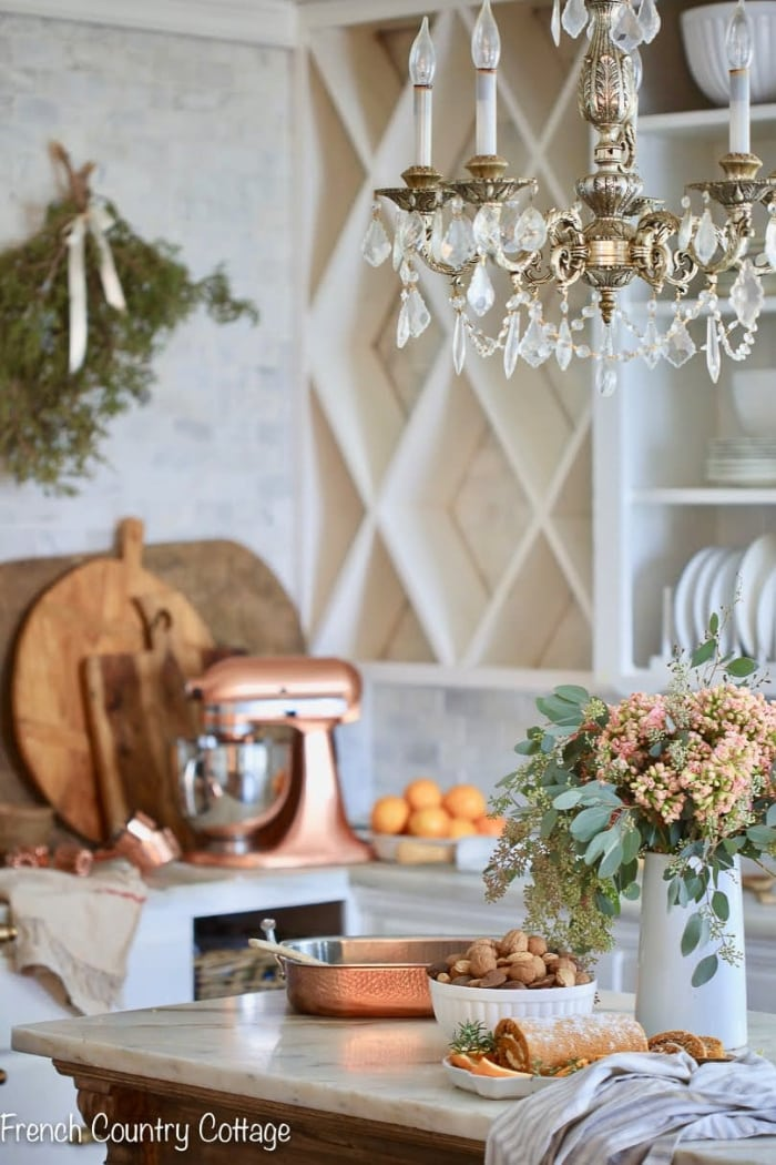 add vintage charm to the kitchen
