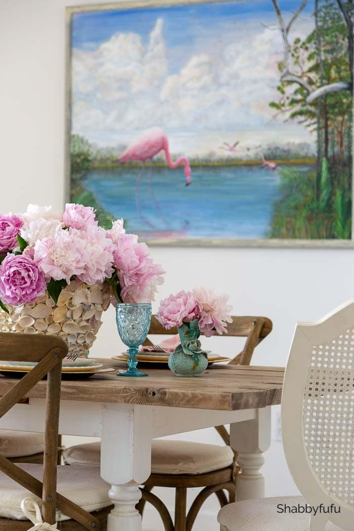 art of arranging peonies Shabbyfufu