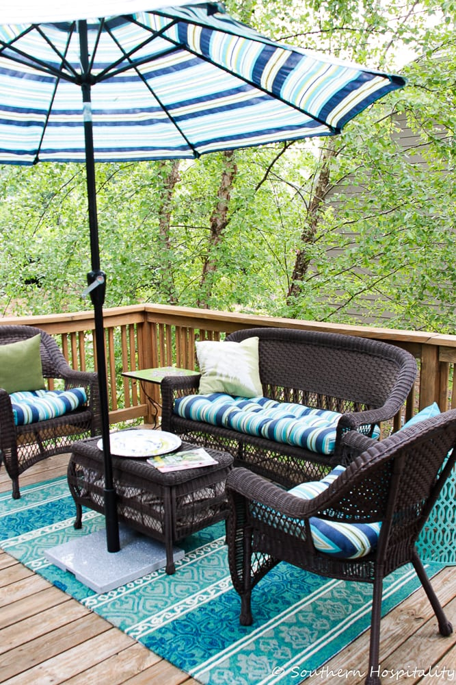 summer deck space