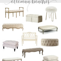 Affordable French Style Ottomans