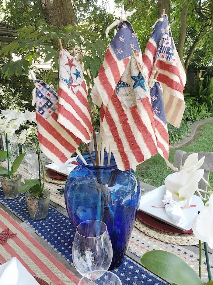 4th of July Flags DIY
