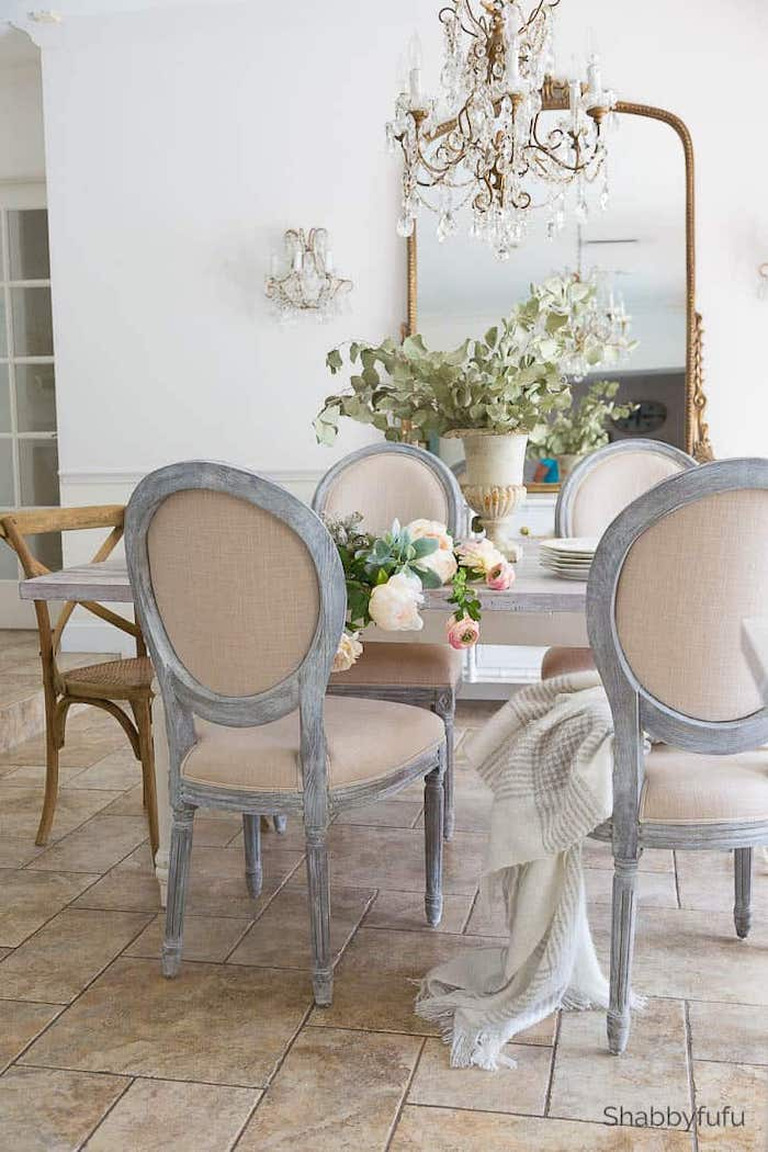 5 Minute French Country Furniture Whitewash Technique