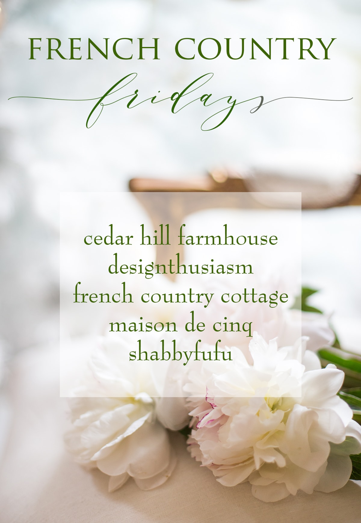 French Country Fridays logo