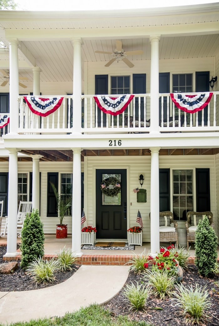 Home Stories Patriotic Porch Ideas