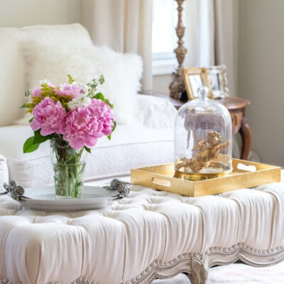 Updated French Country Living Room Decor Ideas