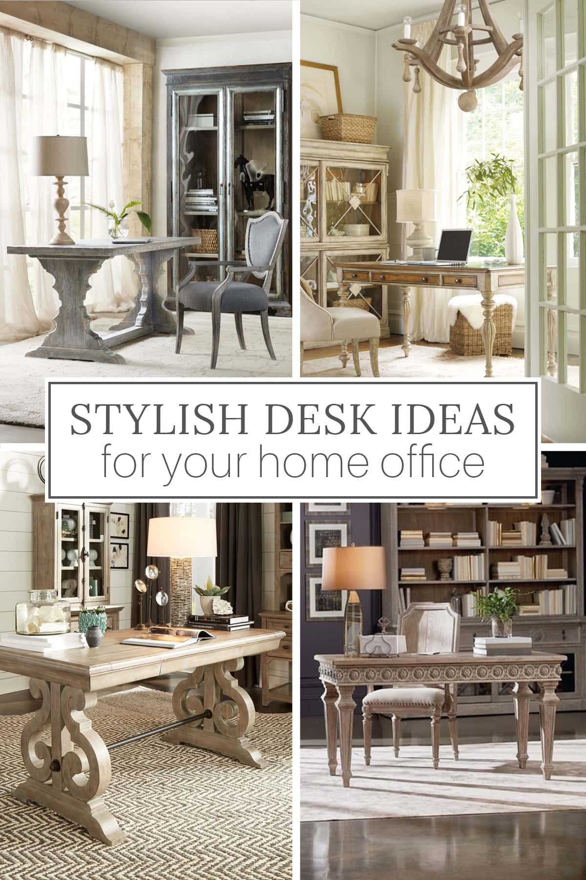 stylish desk ideas for a hoe office