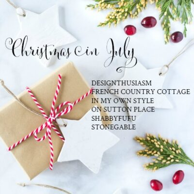 20 Minute Decorating: Christmas in July Edition