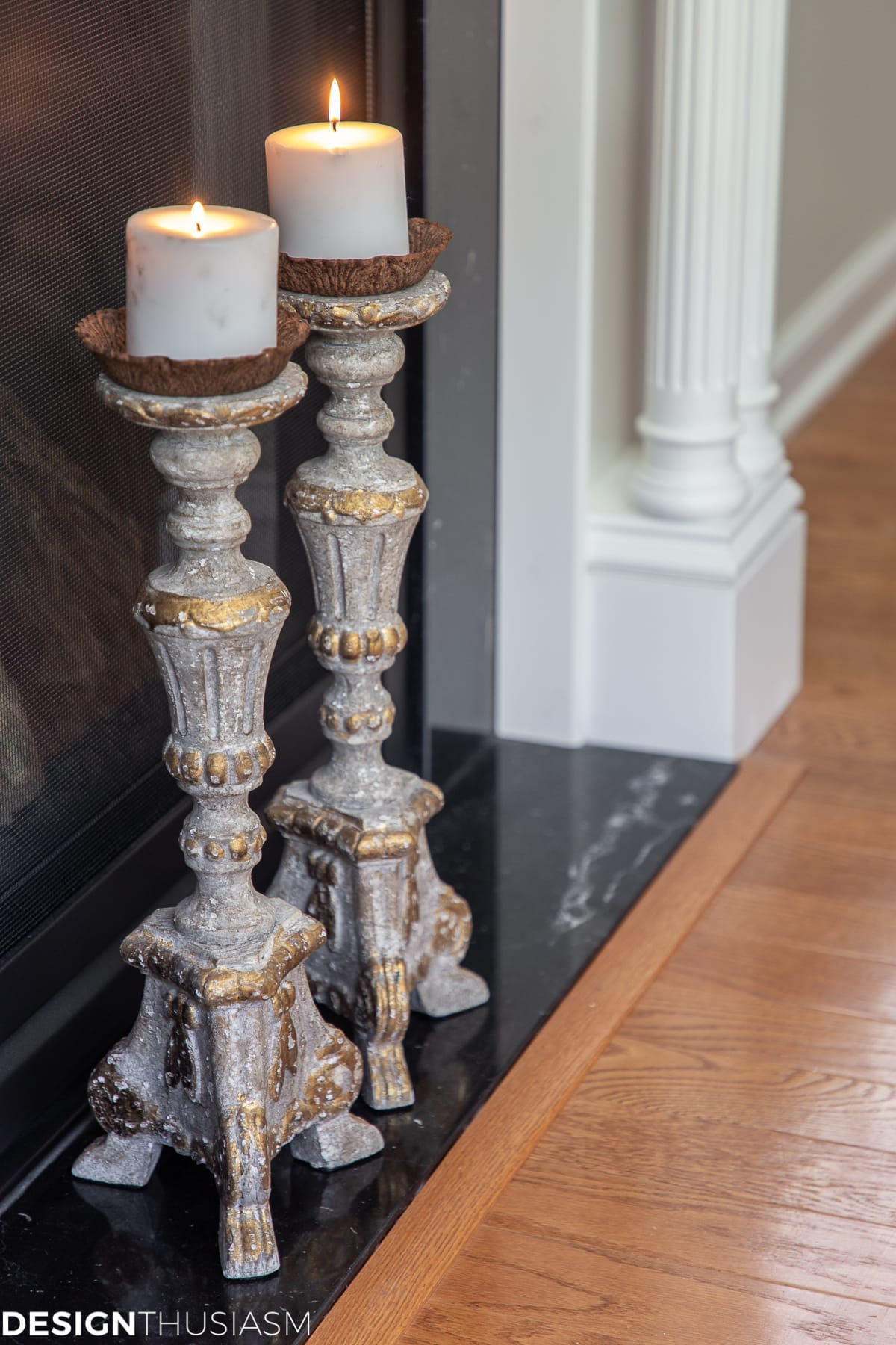 family room candlesticks
