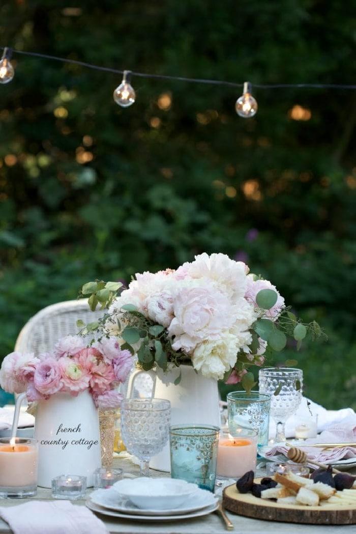 Summer Table setting
