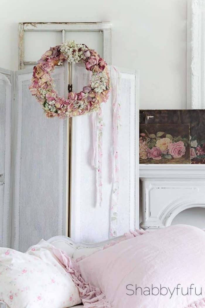 Shabbyfufu - Dried Floral Arrangements For A French Country Look
