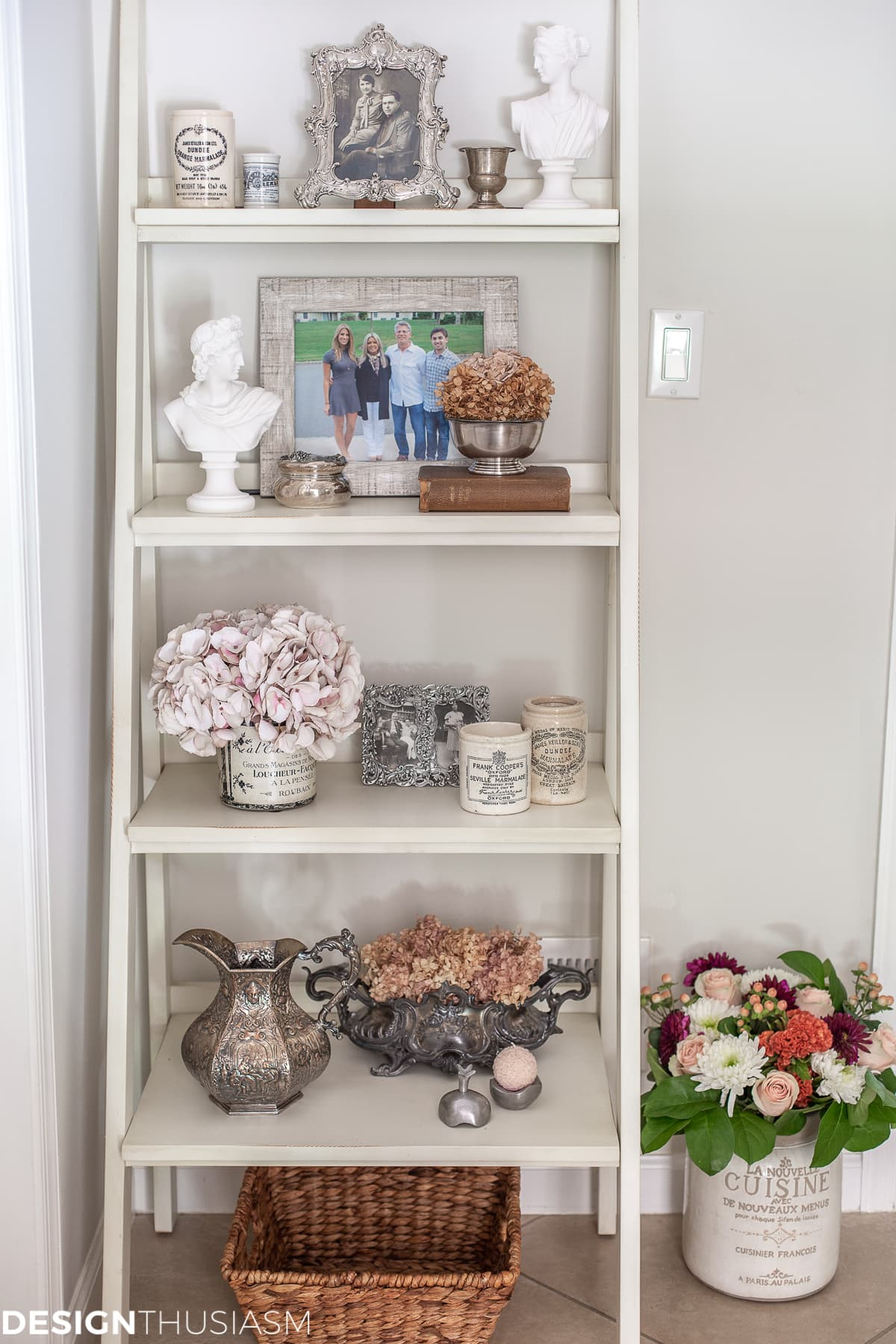 shelf decorating ideas