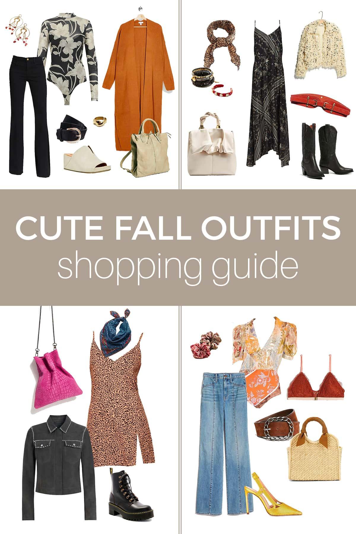 Guia de compras de outono: como montar roupas de outono fofas e acessíveis