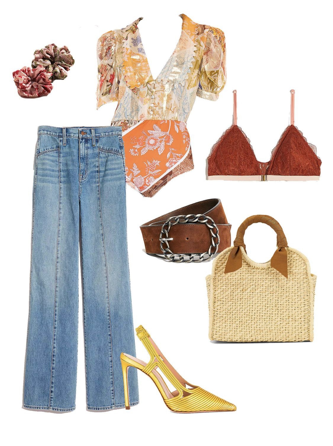 70's inspired fall weekend outfit