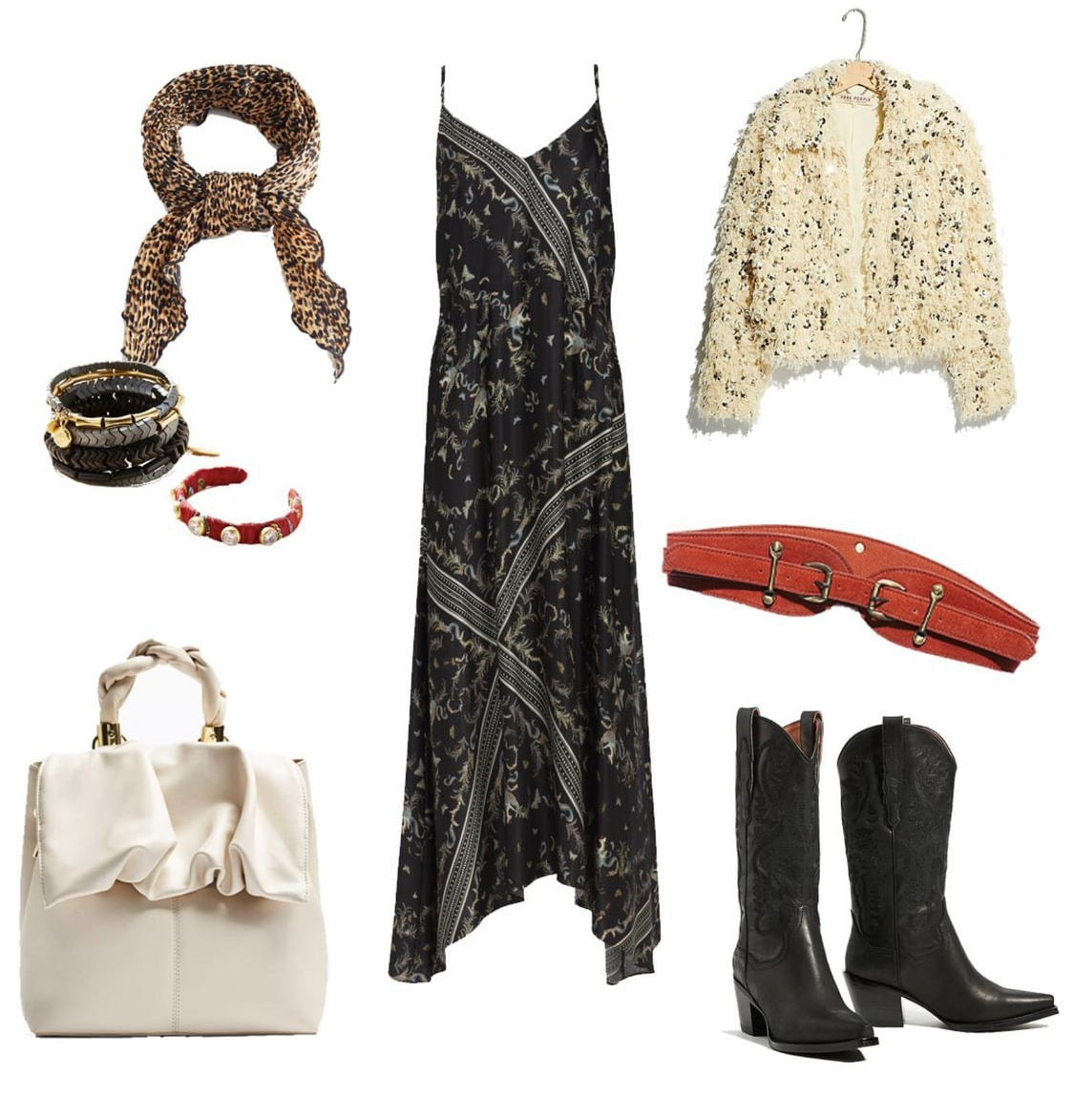 western inspired fall outfit